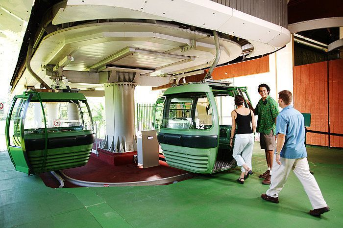 The Skyrail Rainforest Cableway experience spans 7.5kms over Australia's pristine tropical rainforests starts from $50  Call Us 1300 731 620 or visit http://www.fnqapartments.com/tour-skyrail/area-cairns/  #Skyrail #rainforest #cairns #CairnsTour