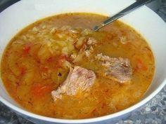Шустрый повар.: Густой грузинский суп Харчо