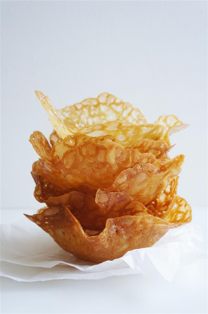 Cakelets and Doilies: Brandy-snap Basket