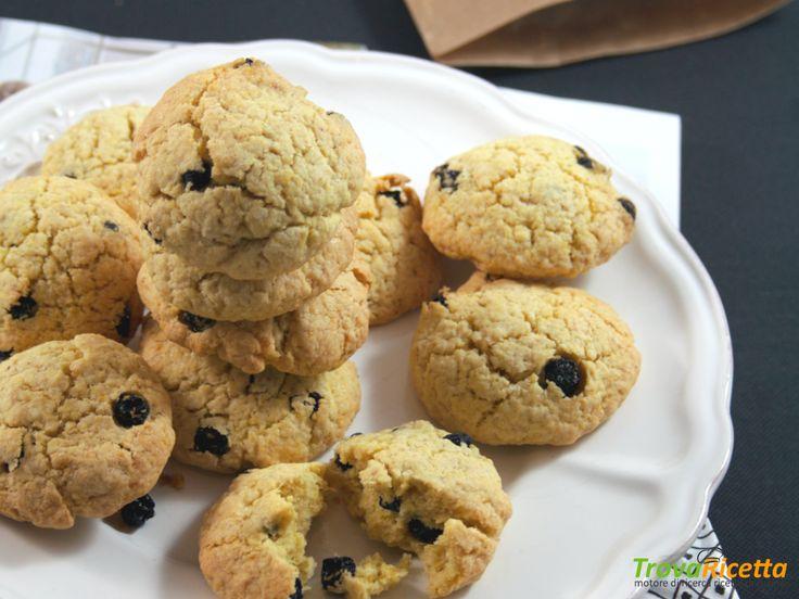 Biscotti con farina di avena e bacche di aronia  #ricette #food #recipes