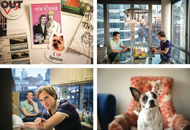 The Set-Up: Michael Urie & Ryan Spahn   Out Magazine