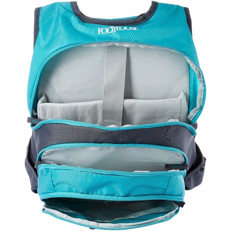 Footloose Blitz 01 Blue | Ace Bazaar  Spacious enough to accommodate all your stuff. Multiple compartments with organizers.
