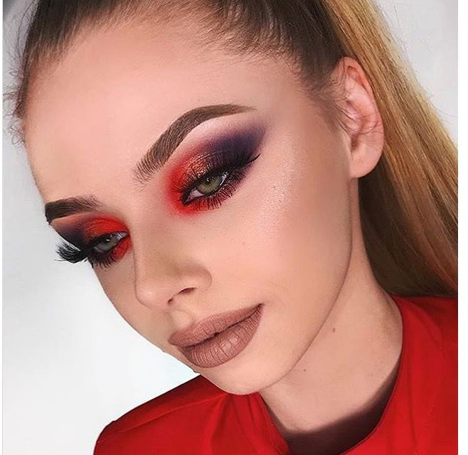 You Like What You See For More Like This Follow Me Rinterest Delightfylglace New Pins Everyday Makeup Red Eye Makeup Makeup Inspiration