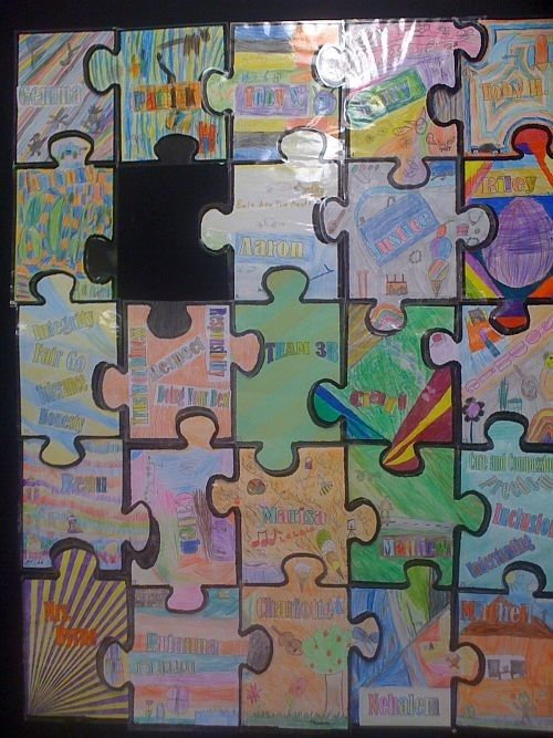 Blank Jigsaw Puzzle Template - K-3 Teacher Resources