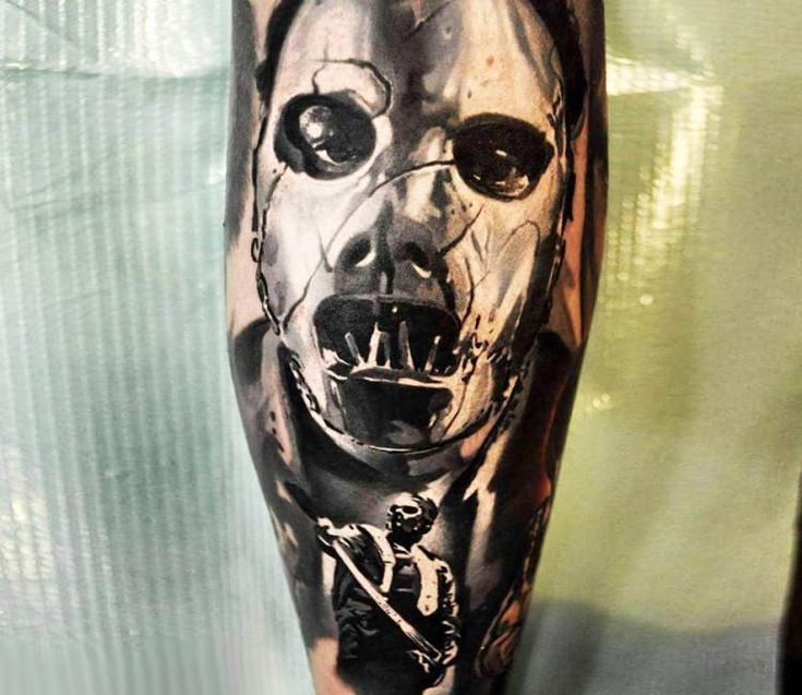 Paul Gray from Slipknot tattoo by Jakub Hanus