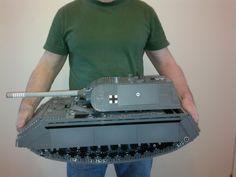 Panzerkampfwagen VIII Maus ( a german WW2 panzer / tank ): A LEGO® creation by re465 . : MOCpages.com