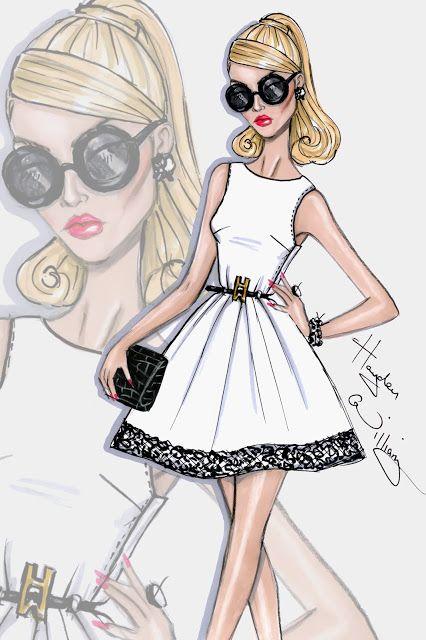 #Hayden Williams Fashion Illustrations #'Class Act' by Hayden Williams