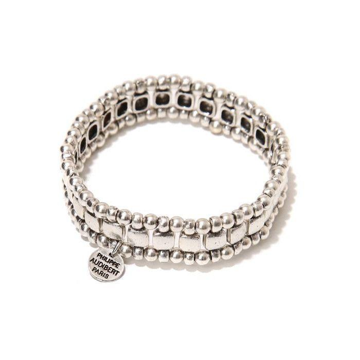 PHILIPPE AUDIBERT フィリップオーディベール Box bracelet silver color ブレスレット シルバー ジュエリー レディース ブレス br6031