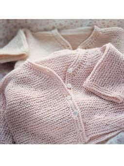 Garter Stitch Cardigan ~ Free Knitting Pattern