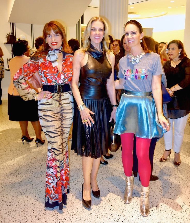 Houston fashion blogger, Beth Muecke, attended the Latin Women's Initiative luncheon kick-off party
