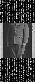 Leroy P. Gremmer in World War I uniform. (1918).