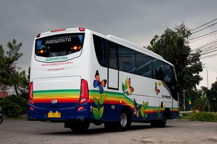 wisata anda jauh lebih berkesan dan penuh warna bersama Bus Pariwisata Suryaputra