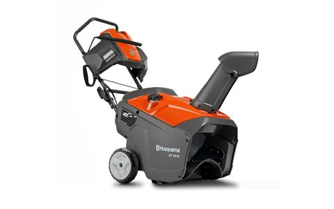 Husqvarna ST121E. Compact and high-performing single stage snow thrower for drive ways and paths.