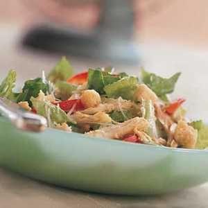 Easy Dinner Salads | Chicken Caesar Salad  | MyRecipes