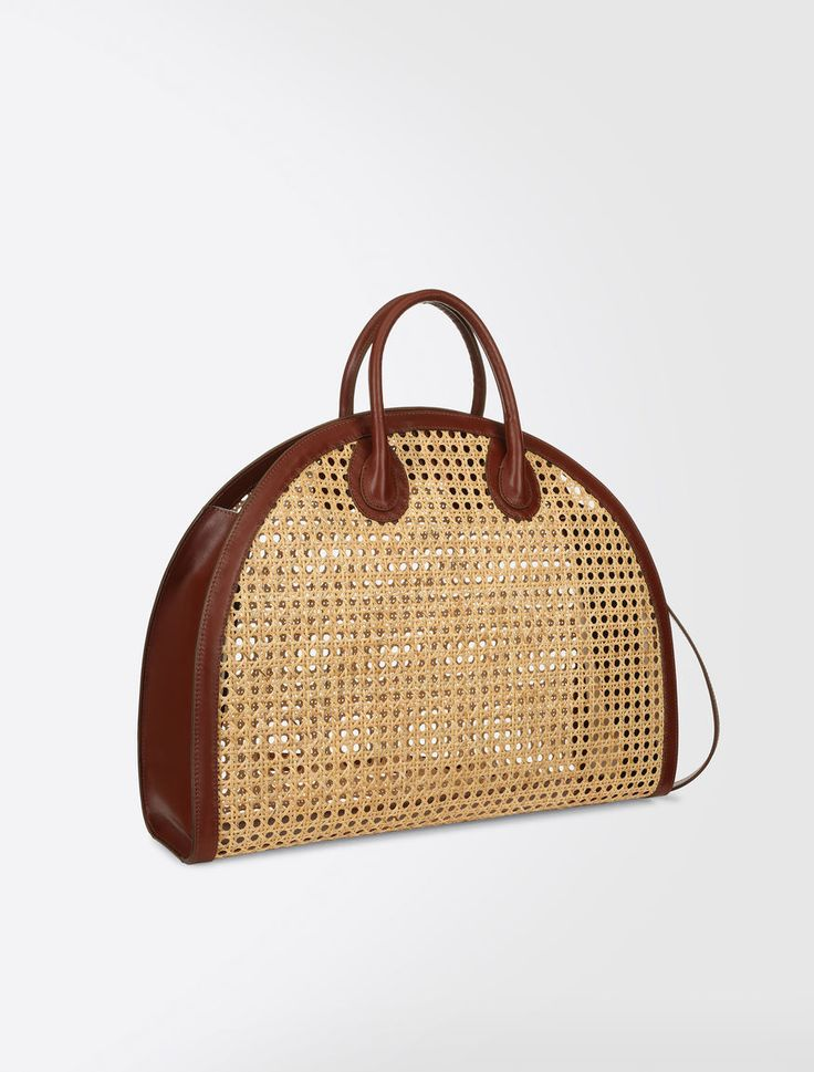 Straw bag Weekend Maxmara