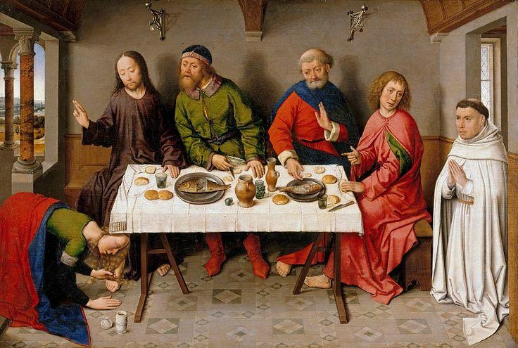 Баутс, Дирк (ок1415-1475) - Христос в доме Симона.