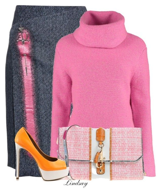 """""""Virgin Wool Chunky Roll Neck Jumper"""" by lindsayd78 ❤ liked on Polyvore featuring Balenciaga, FAY and ALDO"""