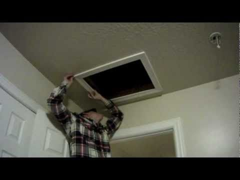 How to Install an Attic Access Door for Insulation