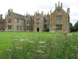 Elizabethan Great House-EXCERPT: Barrington Court is a fine example of an Elizabethan manor house. It was started in 1514, but altered later. Barrington Court is also built to an E shape. This is often believed to be a symbol of loyalty to Queen Elizabeth, but is probably more a happy coincidence; many manor houses were built to this E shaped arrangement, but there were also H shaped houses, so there may well be some element of truth in the patriotic theory.