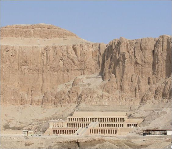 Mortuary Temple of Hatshepsut ANCIENT EGYPTIAN ARCHITECTURE | Facts and Details