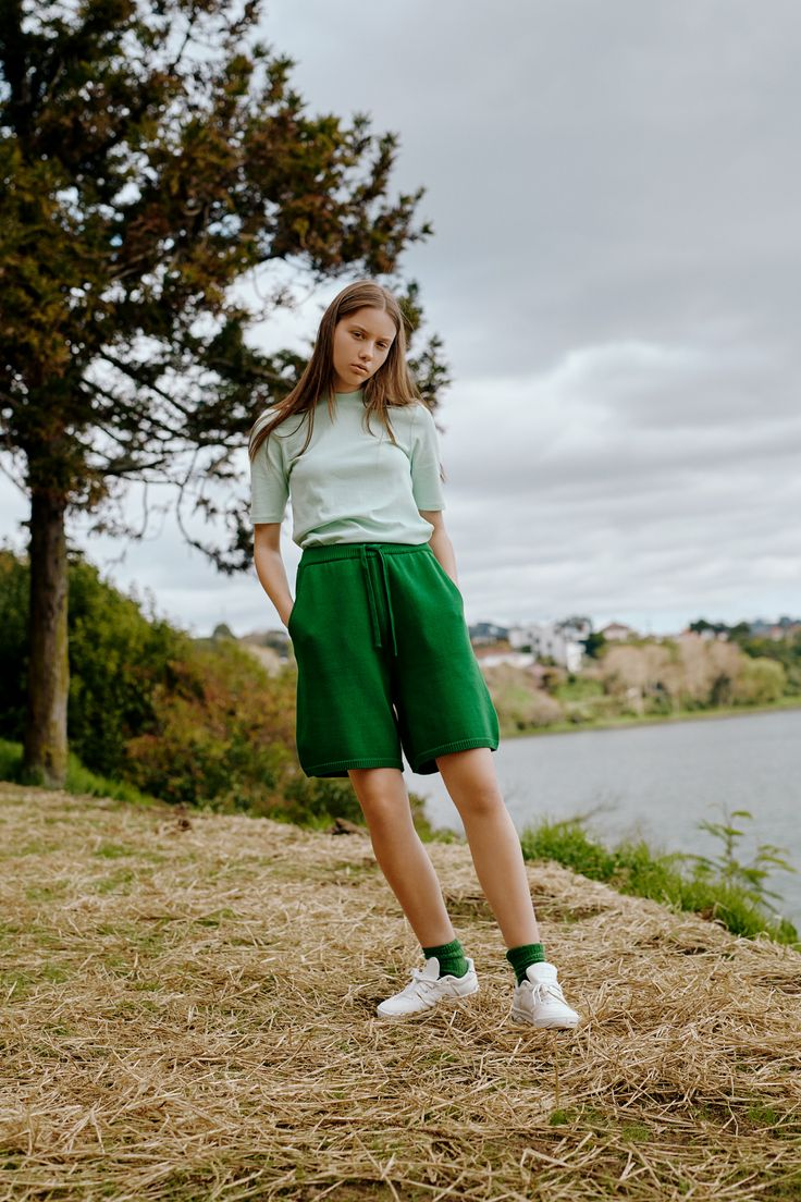 Rhapsody Top & Pavement Shorts by Kowtow. Ethical organic cotton.