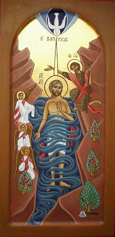 Souvent Les 254 meilleures images du tableau BAPTÊME DE JESUS sur  EH78