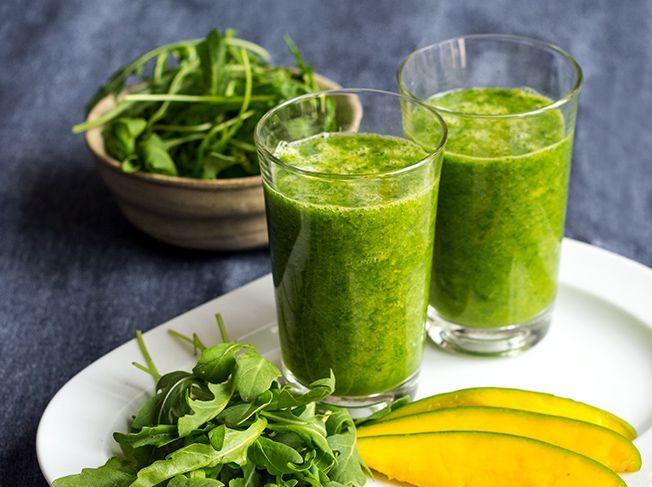 Rucola Smoothie - der grüne Vitamin-Kick