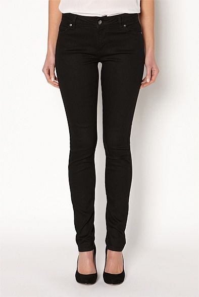 Witchery Denim | Women's skinny jeans in high-waisted, black, white & other styles - Skinny Jean #witcherywishlist