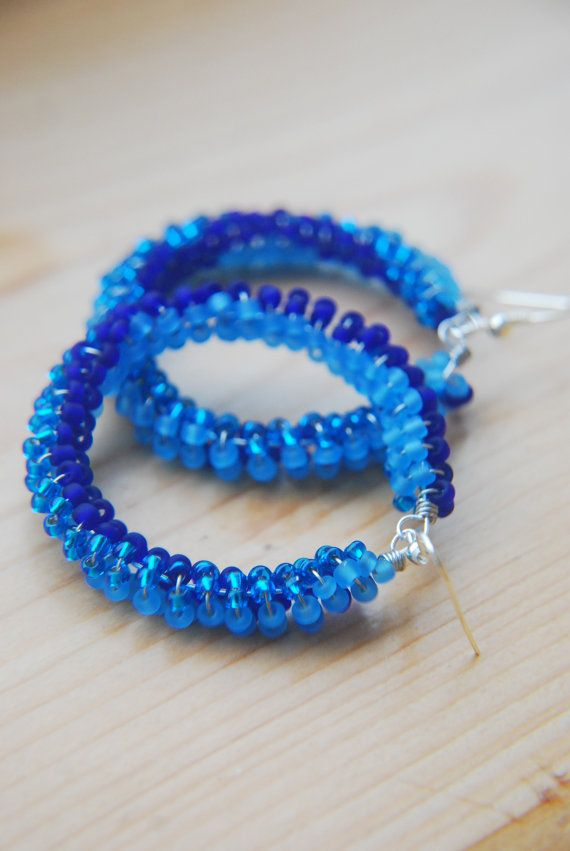 Hey, I found this really awesome Etsy listing at https://www.etsy.com/listing/194843846/blue-earrings-beach-earrings-seed-bead