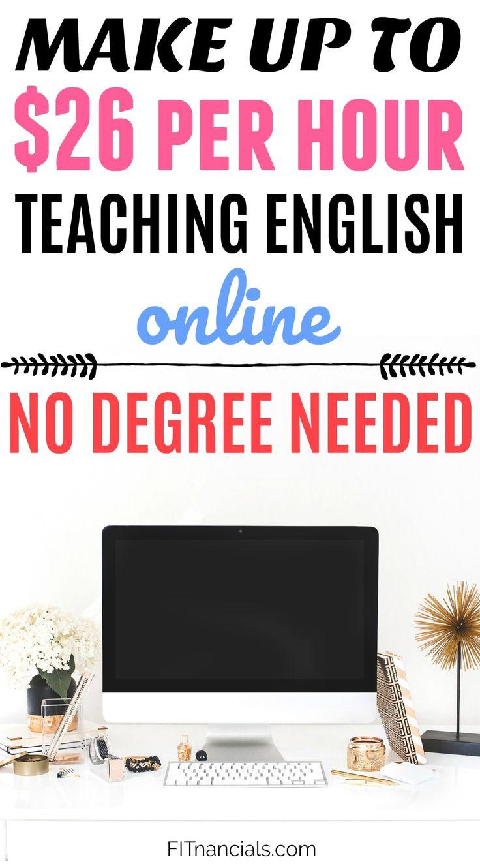 Teach English Online & Get Paid $26 Per Hour – No Bachelor's Degree Necessary via @fitnancials