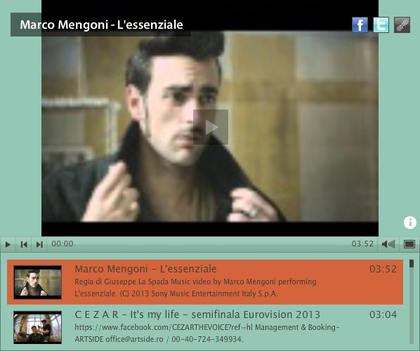 Great performance Marco Mengoni