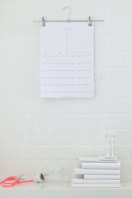 Diy Office Calendar : Best images about planery on pinterest weekly planner