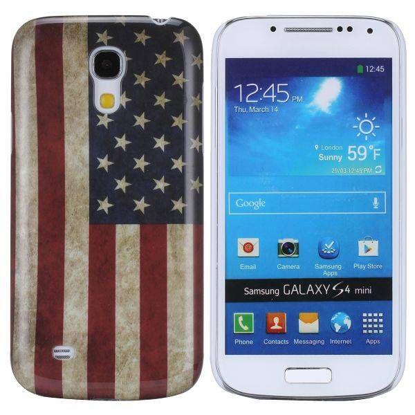 Amerikaanse vlag hoesje Samsung Galaxy S4 mini