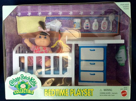 Cabbage Patch Kids Collectible Bedtime Playset Name Dixie