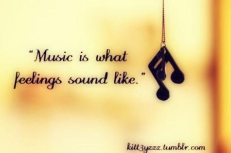 the beauty of music....