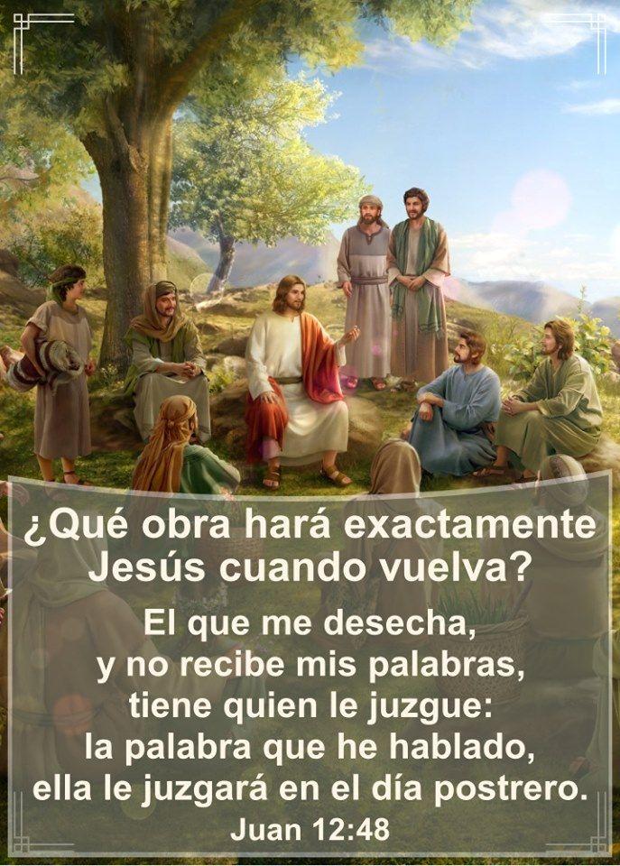 Qué Obra Hará Exactamente Jesús Cuando Vuelva Iglesia De Dios Evangelio Voluntad De Dios