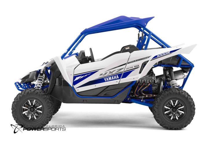 New 2017 Yamaha YXZ1000R ATVs For Sale in Florida. 2017 Yamaha YXZ1000R, The YXZ1000R is in a class of its own with a sport tuned 3 cylinder engine and indsutry first 5 speed sequential shift manual transmission. All-New Yamaha Sport Shift 5-Speed Sequential Shift Transmission Unmatched Side-by-Side Performance Stunning 998cc Three-Cylinder Engine Terrain Conquering FOX® Podium RC2 Shocks Ergonomics Built for Performance Come to Central Florida PowerSports, your favorite New and Used Yamaha…