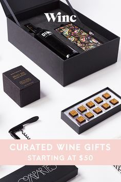 Winc curates luxury gifts for the wine lover in your life. Whether you're looking for an elegant wine-and-chocolate pairing, a case of exceptional wine, or a wine club membership, Winc is your destination for memorable gifts.