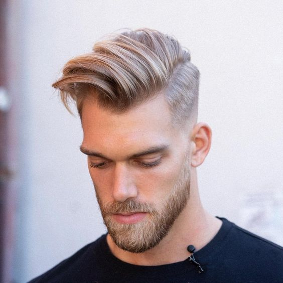 Long Quiff With Taper Fade 1 Hair Pinterest Hair Styles Hair