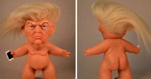 Someone has created a NSFW Donald Trump doll, with tiny hands and penis