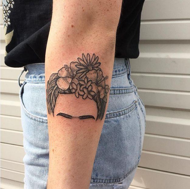 Frida. Frida. Frida. | 19 Tatuajes que volverán locos a los amantes de la Historia del Arte