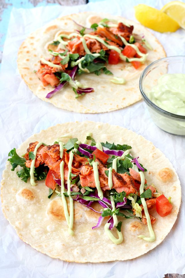 Break out of your weeknight dinner rut with these delicious and easy-to-make Seared Salmon Tacos! A new twist on the classic fish taco, these perfectly seasoned fillets of salmon are packed with nutrients and flavors that are sure to please your family.