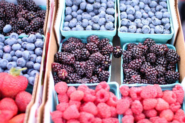 Farmers market berries!