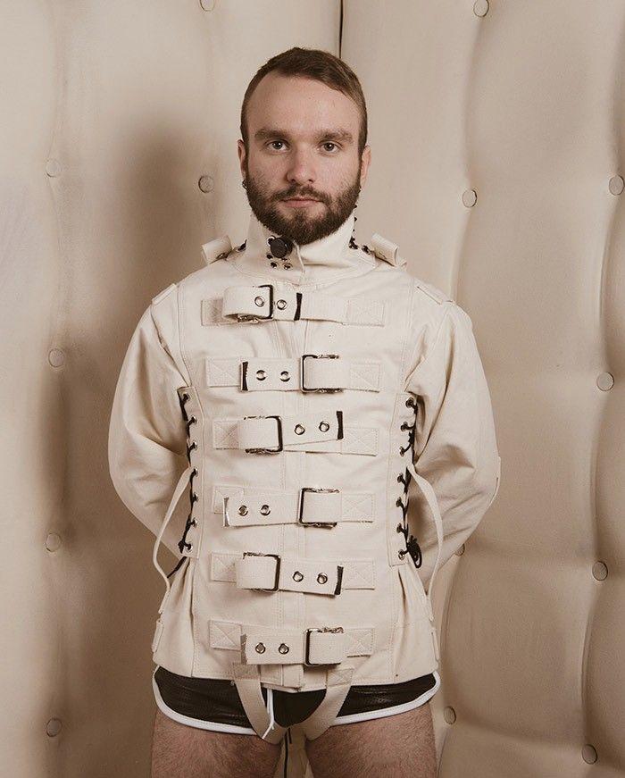Fetters - Tie Down Canvas Straitjacket - Straitjackets & Suits - Heavy Bondage - Restraints