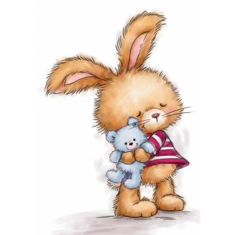 Bunny with Teddy
