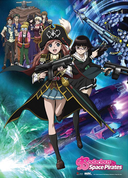 Crunchyroll - Store - Bodacious Space Pirates Key Art Wall Scroll