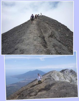 Volcano Concepcion seen from Moyogalpa, Ometepe Island
