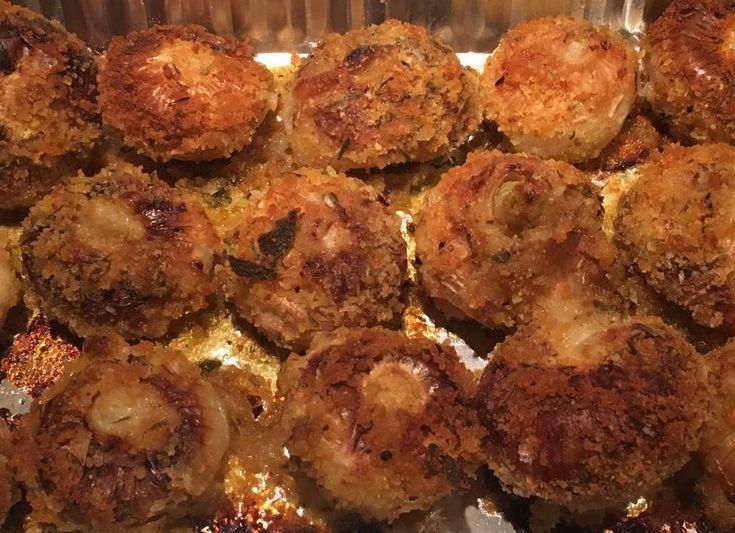 Che buone queste Cipolline Borettane gratinate al forno! Sfiziose e saporite