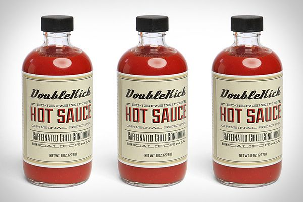 #double #kick #hot #sauce #bottle #bbq #hot #sauce #packaging #design #identity #logo #package #product #unique #good