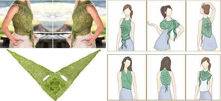 Oggi andremo a guardare un tutorial sciarpa abbastanza interessante,Tuttavia, un po 'più importante è il modo di utilizzarlo e questo è principalmente